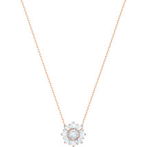 Authentic Swarovski Sunshine White Crystal Flower Pendant - $111.27