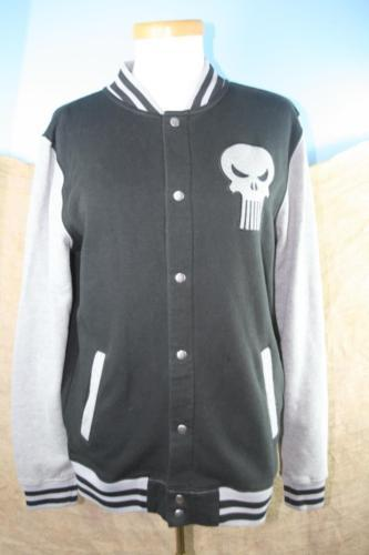 Marvel Youth Black and Gray Long Sleeve Light Weight Jacket Size S 14