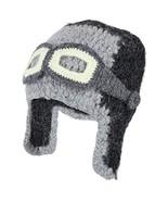 Trendy Apparel Shop Peruvian Handmade Detachable Goggle Aviator Beanie H... - $59.99