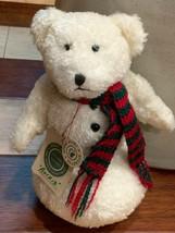 BOYDS BEAR HORIZON OF HOPE L BEARYWELL LONGABERGER 422807 WHITE PINK HAT... - $21.49