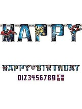 amscan Transformers Add-an-Age Letter Banner - $11.45