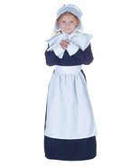 Pilgrim Girl Black/White Costume/ Thanksgiving/Plays/Halloween by Underw... - $60.12 CAD