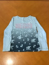 "Girls Kids The Gap GapKids Blue ""Dreamer"" Long Sleeve Shirt Size 8 Medium - $4.94"