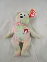 "Ty Beanie Baby Plush Celebrate 15 Years Bear 8"" 2001 Stuffed Animal Toy - $4.95"