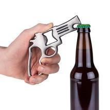 Bottle Opener Beer, Pistol Cast Iron Rustic Funny Cool Cute Pocket Beer ... - £12.70 GBP