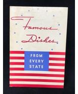 1936 Frigidaire GM General Motors Sales Recipes Cookbook 40 pg - $34.19