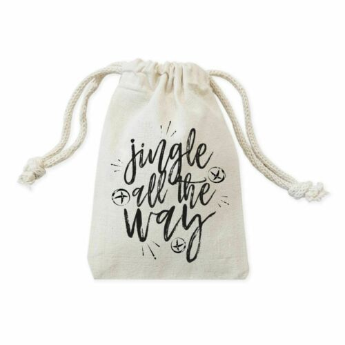Primary image for Jingle All the Way Christmas Holiday Favor Bags, 6-Pack