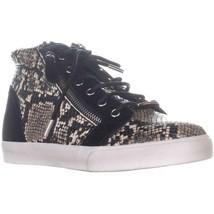 Lauren Ralph Lauren Reece Sneakers, Schwarz, 7 US / 38 Eu - $80.39