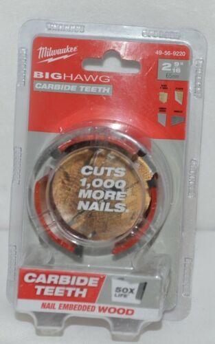 Milwaukee 49569220 Big Hawg Carbide Teeth Nail Embedded Wood