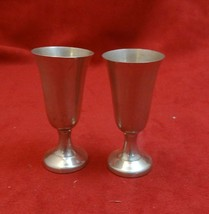 Pair of Sterling Silver Cordials by Wallace (#2191) - $69.00