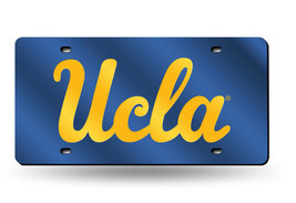 NCAA UCLA Bruins Laser License Plate Tag - Blue - $29.39