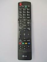 LG AKB72915219 LCD Television Remote Control Black - $9.47