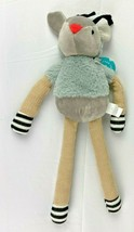 Mouse Plush Toy The Manhattan Toy Company Grey Color 15 Inch NEW - $12.99