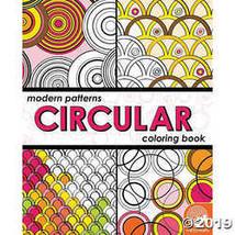 Modern Patterns Circular Coloring Book - $8.69