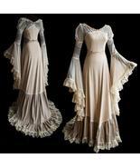 2018  Women New Luxury Medieval Style Floor Length Renaissance Princess ... - $45.80