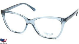 New Polo Ralph Lauren Ph 2183 5155 Crystal Blue Eyeglasses Frame 54-16-145 B43mm - $98.98