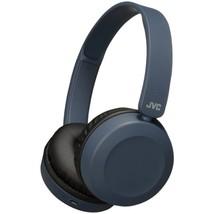 JVC HAS31BTA Foldable Bluetooth On-Ear Headphones (Slate Blue) - $69.33