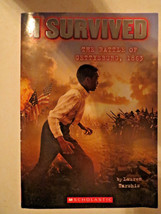 I Survived The Battle of Gettysburg, 1863 by Lauren Tarshis (Scholastic,... - $6.00