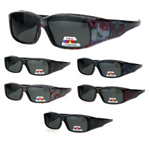 Polarized Womens Fashion Rectangular 57mm OTG Fit Over Sunglasses - $12.95