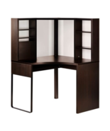 IKEA MICKE Desk Table Computer Corner Work Station Black Brown, 502.447.... - $429.99