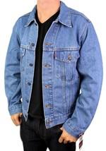 Levi's Men's Premium Classic Cotton Button Up Denim Jean Jacket 705070389