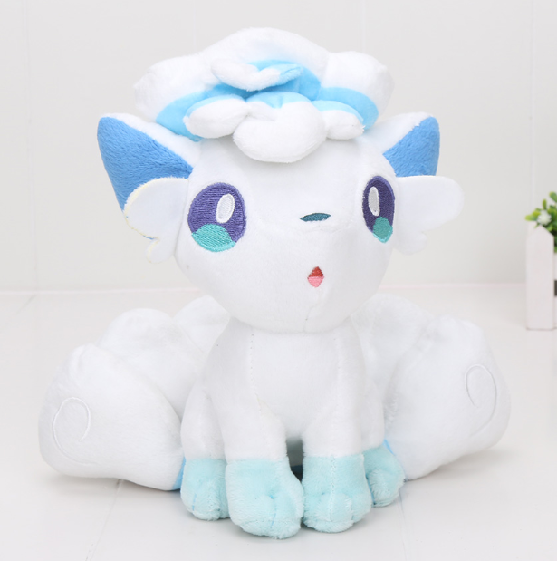 30cm Pokemon Ice Alolan Alola Vulpix Plush Toy Stuffed Ainmal Doll 12'' Teddy