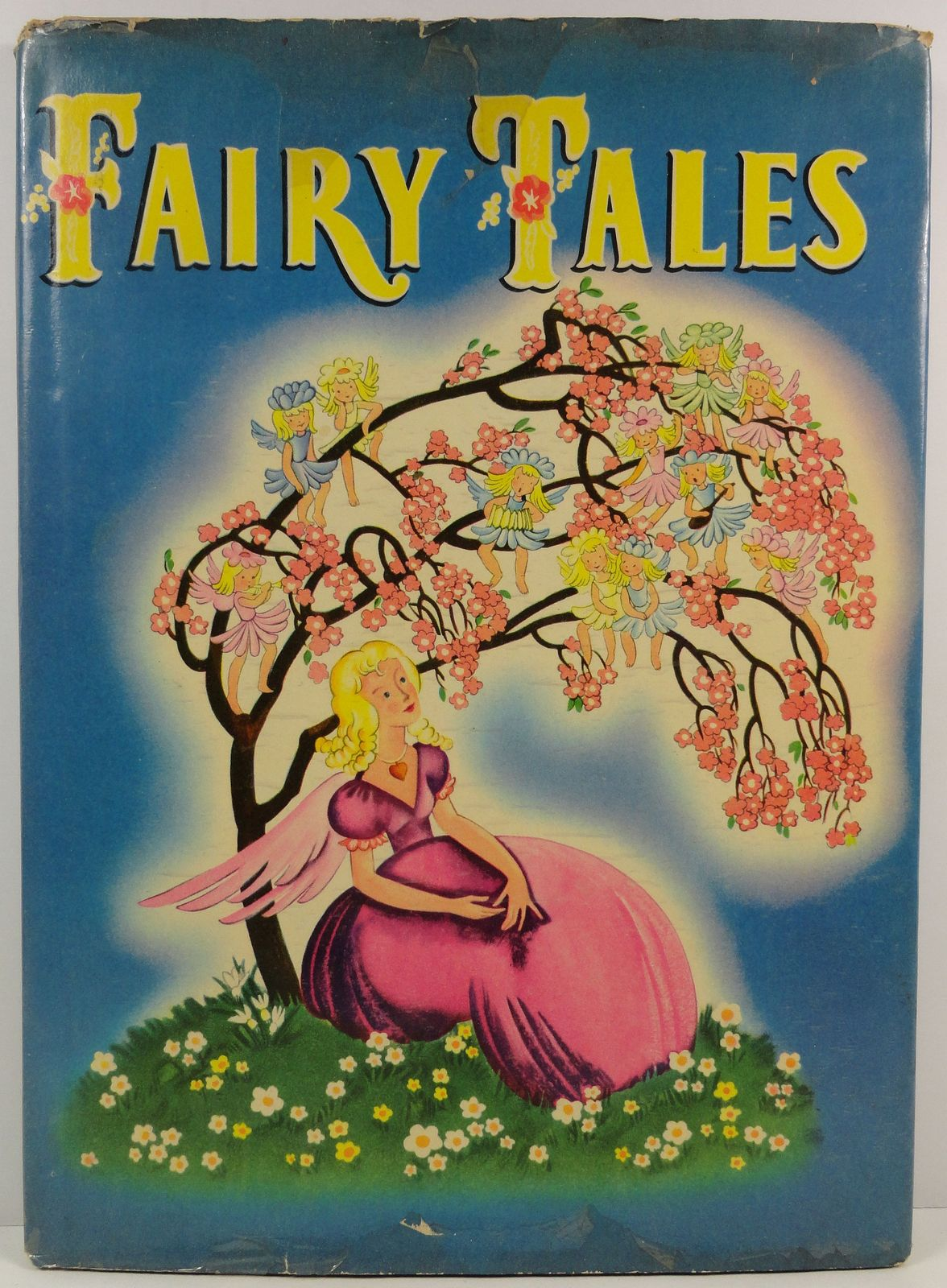 Primary image for Fairy Tales by Katharine Gibson 1945 Whitman HC/DJ