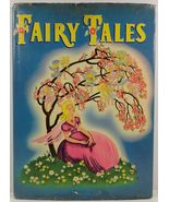 Fairy Tales by Katharine Gibson 1945 Whitman HC/DJ - $19.99