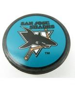 Vintage Hockey Game Official Puck San Jose Sharks NHL VEGUM Made In Slov... - $10.00