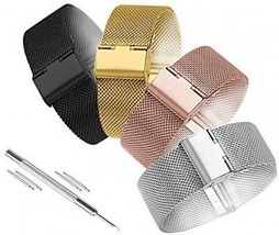 Watch Band Milanese Loop Stainless Steel 14mm Smart Watch Strap Mesh Band Watch - $22.37