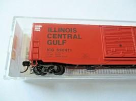 Micro-Trains # 18000280 Illinois Central Gulf 50' Standard Box Car N-Scale image 2