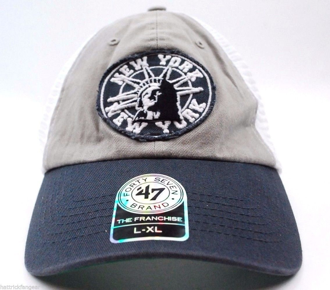 huge discount e8115 7e170  47 Brand Statue of Liberty New York,NY Stretch Fit Mesh Back Style Cap ·