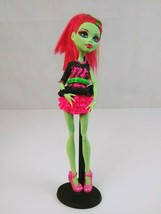 """Monster High 11"""" Doll Venus McFlytrap Music Festival With Accessories - $16.39"""