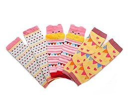 Baby Cotton Socks Baby Leggings Comfy Leg Guards,3 Sets£¨Yellow)