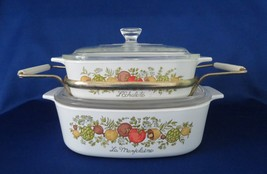 Corning Spice of Life, Covered Casseroles & Carrier - $18.00