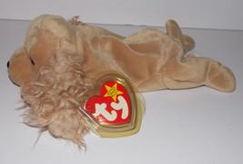 Ty Beanie Baby Spunky Plush 8in Cocker Spaniel Dog Stuffed Animal Retire... - $9.99