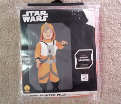Star Wars X-Wing Fighter Pilot Halloween Costume toddler size 3T-4T (3-4... - £9.24 GBP
