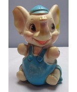 Vintage 1960's Sanitoy Elephant Squeak Toy - Rubber - Works Great! 8 inc... - $26.46