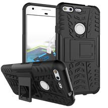 "Armor Tough Kickstand Phone Protective Case For Google Pixel XL 5.5"" - Black  - $4.99"