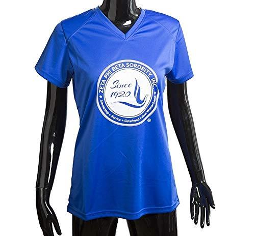 Primary image for Zeta Phi Beta High Performance Tee Shield Small