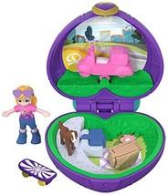 Polly Pocket Tiny Pocket World, Polly & Peaches - $7.40