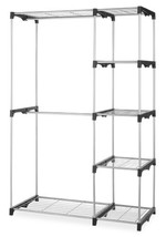 Whitmor Double Rod Freestanding Closet Heavy Duty Storage Organizer - $907,87 MXN