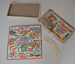 Milton Bradley Candy Land 1955 Incomplete Damag... - $29.61