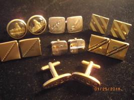 7 Prs. of Vintage Cuff Links - $9.99