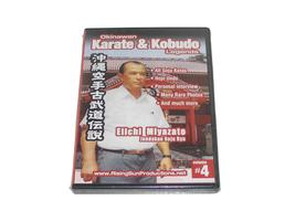 Okinawan Jundokan Goju Ryu Karate + Kobudo Legends #4 DVD Miyazato RS061... - $19.99