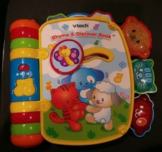 Vtech Rhyme and Discover Book Electronic Toy Educational Tested - $5.95