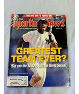 The Sporting News 8/24/98 - 98 New York Yankees - Greatest Team Ever? (A15) - £2.23 GBP