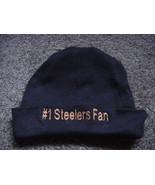 Pittsburgh Steelers Football Baby Infant Newborn Hospital Hat Cap Black - $19.99