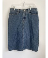 Bass G.H. Bass & Company Women's Light Blue Denim Jean Pencil Skirt Size 10 - $19.79