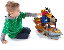 Fisher-Price Imaginext Shark Bite Pirate Ship - $90.56